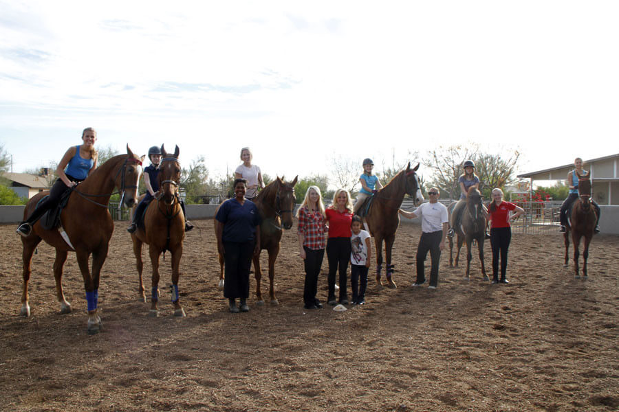 Horseback Riding Lessons in North Scottsdale Reach Out Desert Palms