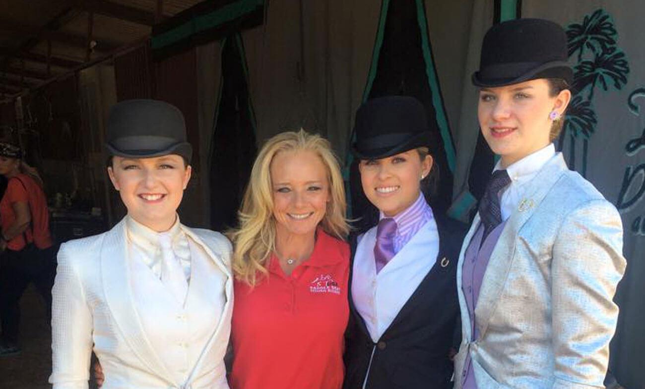 Horseback Riding Lessons in North Scottsdale Show Team Desert Palms